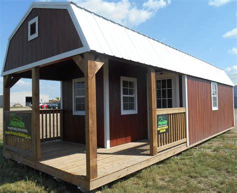 cabin building premier lofted barn cabin buildings by premier