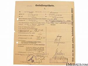 a group of rommel signed afrikakorps documents With a signed documents