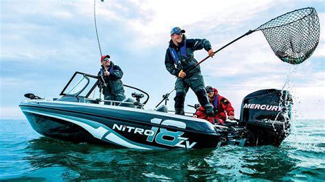 Nitro Bass Ski Boat by Nitro Boats Zv18 Performance Multi Species Fishing Boat