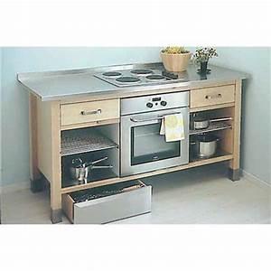 meuble pour four encastrable et table de cuisson meuble With meuble pour four encastrable et table de cuisson ikea