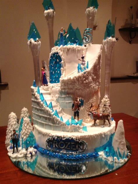 frozen cake frozen party frozen birthday cake frozen
