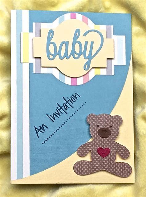 Handmade Baby Shower Invitations Handmade baby shower