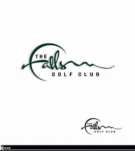 The Falls Golf Club Logo Design | HiretheWorld