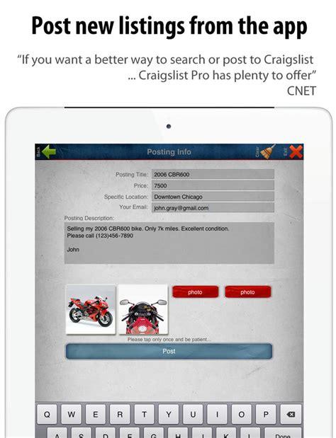 craigslist app for iphone cpro craigslist client mobile free craigslist app for