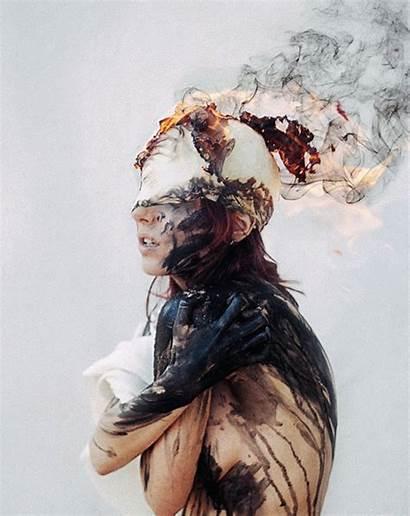 Beethy George Artist Captivating Blind Redhawk Eerily