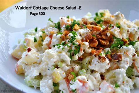 cottage cheese lunch ideas waldorf salad recipes trim healthy e foods trim