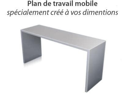 homeinox plan de travail mobile sur mesure