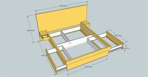 build platform bed  drawers platform bed