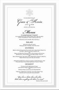 winter theme wedding menu cards snowflake wedding menu With menu templates for weddings