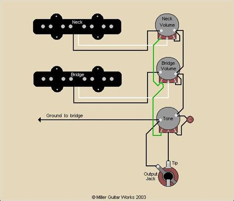 miller guitar standard j bass 174 wiring diagram
