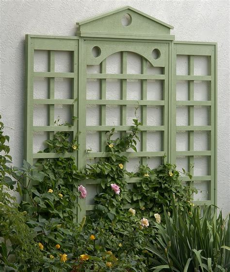 How To Attach A Trellis To A Wall  Garden Gate