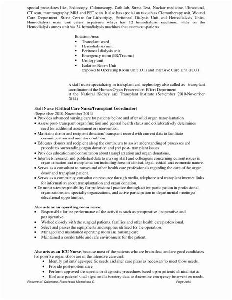 cardiac icu nurse resume luxury cardiology nurse cv resume