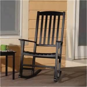 mainstays outdoor rocking chair black walmart com