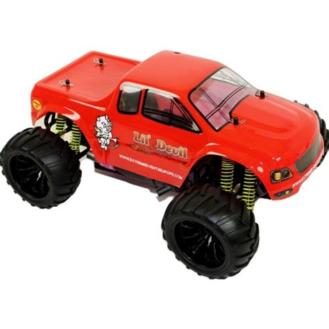 nitro rc monster trucks 1 10 nitro rc monster truck lil 39 devil