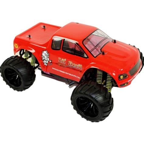 nitro monster 1 10 nitro rc monster truck lil 39 devil