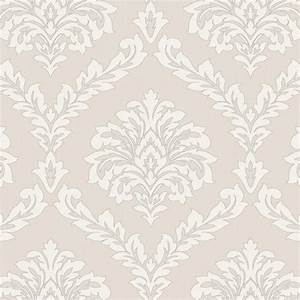 Fine Decor Cavendish Damask Wallpaper Beige (FD40987 ...