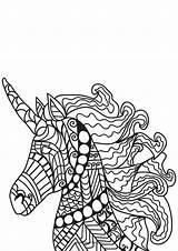 Licorne Coloriage Cheval Kleurplaat Dessin Coloring Unicorn Adulte Eenhoorn Unicornio Colorare Unicorno Disegno Mozaiek Malvorlage Einhorn Colorear Dibujo Imprimer Paarden sketch template