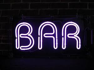 Bar Neon Sign Free Delivery!