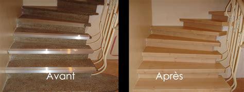 habiller un escalier en parquet r 233 novation escalier couleurs et coloris erable