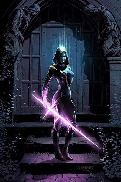 Psylocke Marvel Comics Sword Maiden Concept Reinfurt