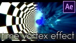 After Effects Tutorial  Time Warp Tunnel    Time Vortex