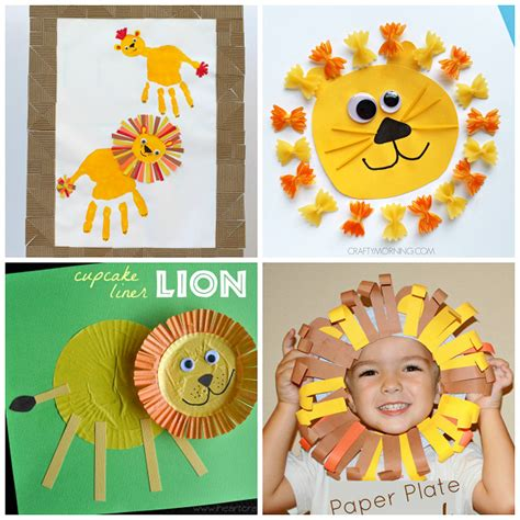 lion preschool craft crafts for to make crafty morning 254