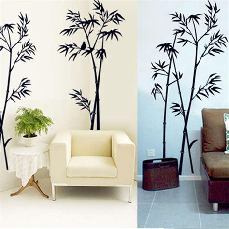 stickers pour bureau diy noir bambou citation stickers muraux sticker mural