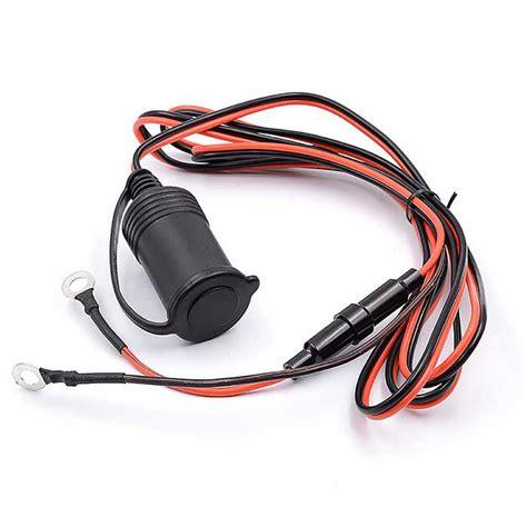 steckdose mit sicherung auto zigarettenanz 252 nder steckdose stecker mit sicherung schwarz kostenlose lieferung