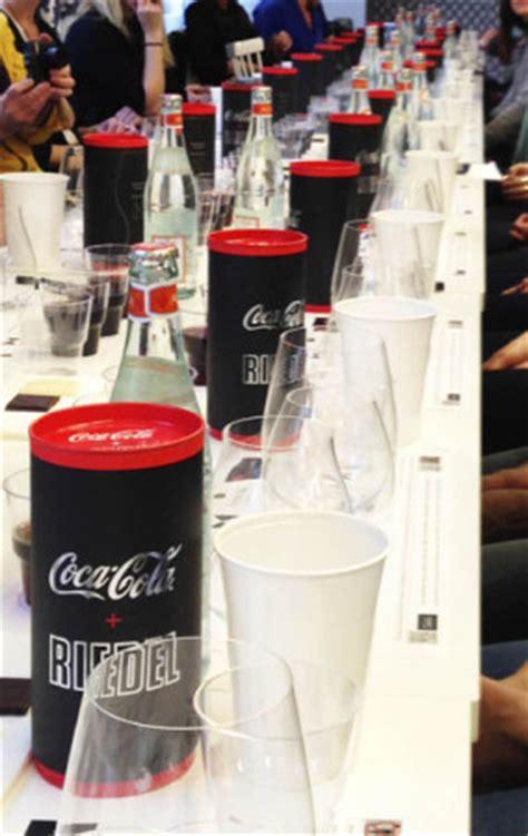 riedel glass tasting  coca cola bkwine magazine