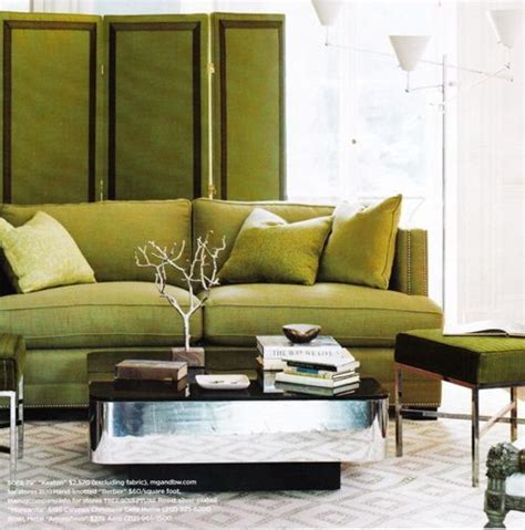 Elegant Chartreuse Interiors   Inspiration by Color