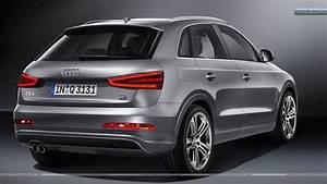 Audi Q3 S Line : 2012 audi q3 quattro s line silver color back pose wallpaper ~ Gottalentnigeria.com Avis de Voitures