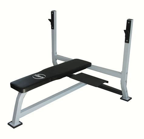 Flat Barbell Bench For 7ft Olympic Standard Weight Bar