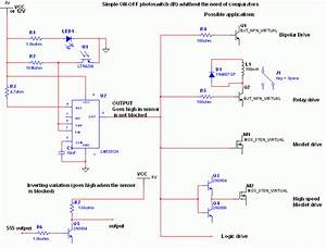 How To Build Simple Optical Switch  Circuit Diagram