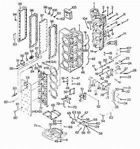 Force 125 Hp  1988  Power Head Parts