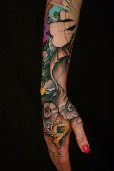 arm sleeve tattoos  women men