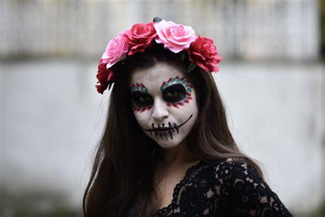 La Catrina Selber Schminken An Halloween Oder