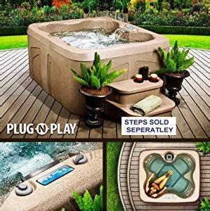 lifesmart 4 person rectangular tub lifesmart rock solid simplicity and play