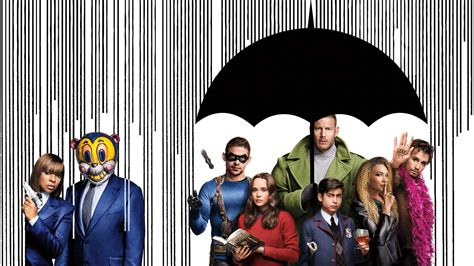 The Umbrella Academy Cast Wallpapers - Wallpaper Cave