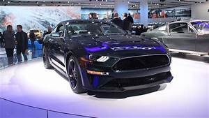New Ford Mustang Bullitt Is Mean And Green In Detroit News - Top Speed