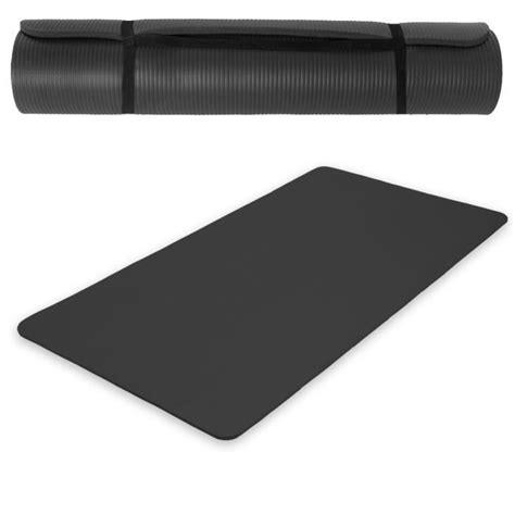 tapis de sol tapis de sport tapis de gymnastique tapis de en mousse 190 cm x 100 cm x 1