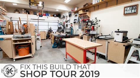 woodworking shop    car garage workshop youtube