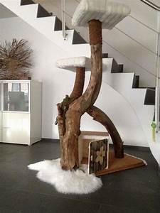 Kratzbaum Aus Baumstamm : die 25 besten ideen zu katzenkratzbaum auf pinterest kratzbaum diy katzenbett und ~ Frokenaadalensverden.com Haus und Dekorationen