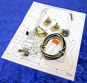 Stratocaster Srv Wiring Kit With 5