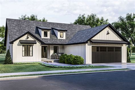 craftsman  american house plan  cathedral ceiling great room dj architectural