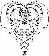 Coloring Dragon Pages Dragons Adult Printable Fantasy Urbanthreads Tattoo Sheets Wyvern Colouring Cute Fairy Designs Patterns Baby Celtic Adults Burning sketch template