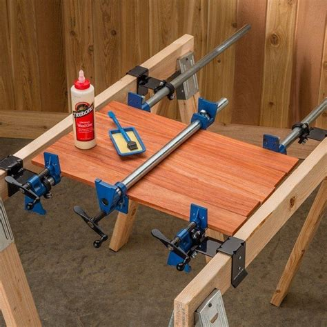 pin  woodworking clamps