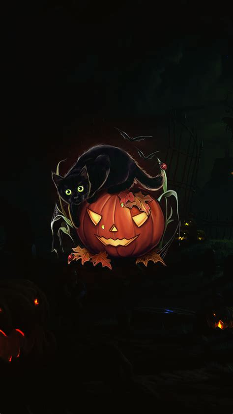 Follow the vibe and change your wallpaper every day! Free Scary Halloween Backgrounds & Wallpaper Collection 2014