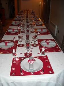 Table De Noel Blanche : chambre deco table de noel rouge et blanc table noel blanche et avec table noel blanche rouge ~ Carolinahurricanesstore.com Idées de Décoration