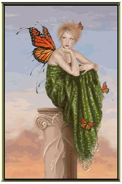 Angel Angels Animated Butterfly Fanpop Wings Butterflies