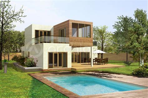 cuisine plan de maison moderne container archionline modele facade maison moderne modele maison